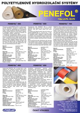 Katalogový list - LITHOPLAST, sro