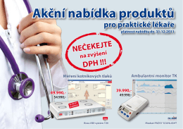Akcni nabidka PL 2011 - COMPEK MEDICAL SERVICES, sro