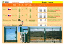 Ceník - Branky a brány-2