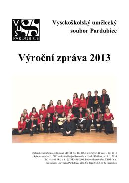 text výroční zprávy - VUS Pardubice