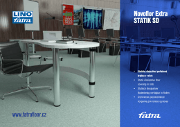 Инфо буклет Novoflor Extra Statik SD