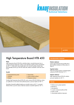 High Temperature Board HTB 450