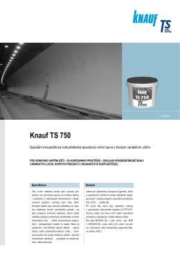 Knauf TS 750