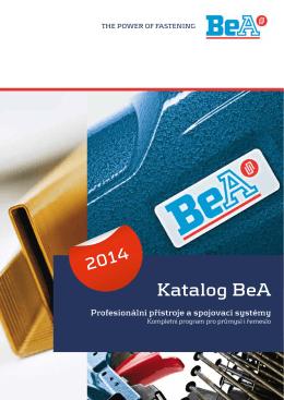 Katalog BeA 2014 - BeA CS, spol. s r. o.