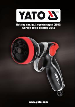 katalog YATO GARDEN 2012