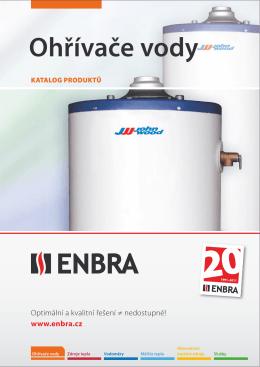 ENBRA, Katalog Ohřívače vody 2011