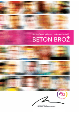 BETON BROŽ - Stavebniny STAS
