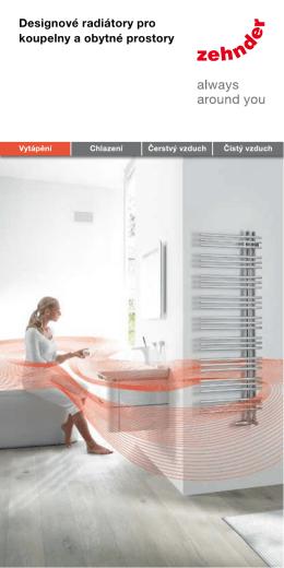 Designové radiátory pro koupelny a obytné prostory