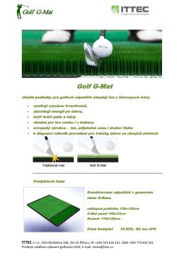Golf G-Mat
