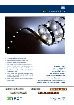 LED osvětlovací pásky