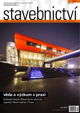 věda a výzkum v praxi - Časopis stavebnictví