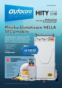 Plnička klimatizace HELLA SECUmobile