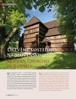 Dřevěné kostelíky na Slovensku - Poznej světové dědictví UNESCO