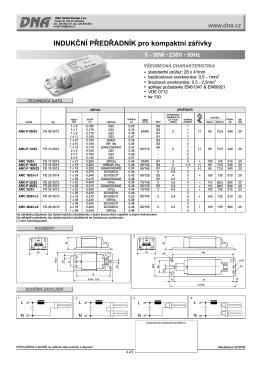 IP - pro kompaktní zářivky