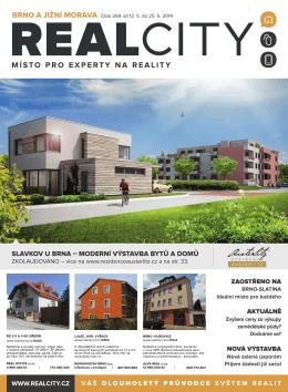 slavkov u brna – moderní výstavba bytů a domů