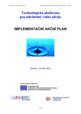 Technologická platforma pro udržitelné vodní zdroje