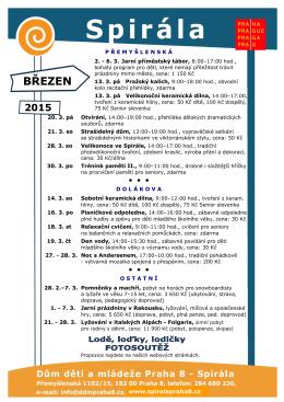 BŘEZEN - DDM Praha 8