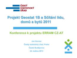 Statistická data: SLDB 2011 v síti