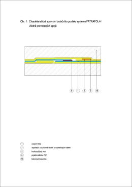 Konstrukční řešení detailů systému FATRAFOL – H