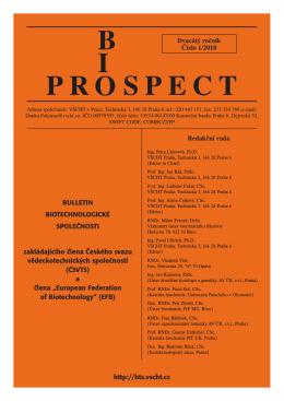 Bioprospect_1.qxd:Layout 1 - Biotechnologická společnost