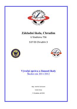 Vyrocni zprava 2011-2012 - ZŠ U Stadionu