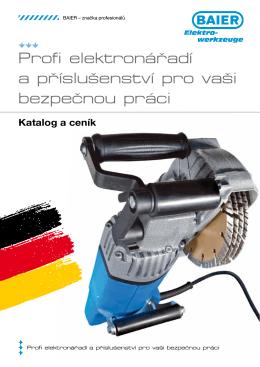 Profi elektronářadí a příslušenství pro vaši bezpečnou práci