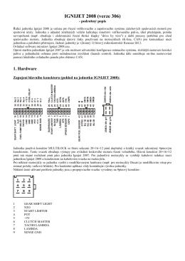 Podrobný popis IGNIJET 2008