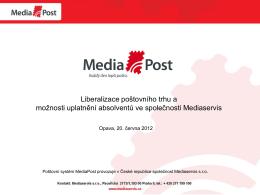 Proces liberalizace poštovního trhu v EU