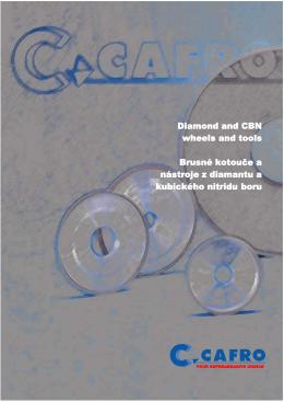 Výrobní program CAFRO