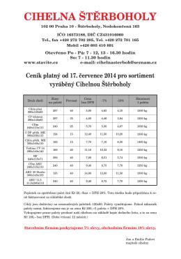 Ceník PDF - stavite.cz