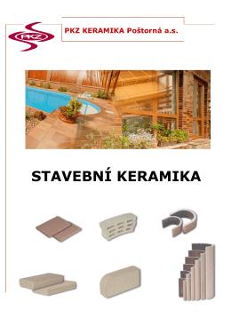 STAVEBNÍ KERAMIKA - PKZ Keramika Poštorná a.s.