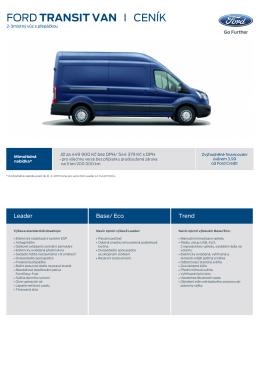 Nový Transit Van (PDF)