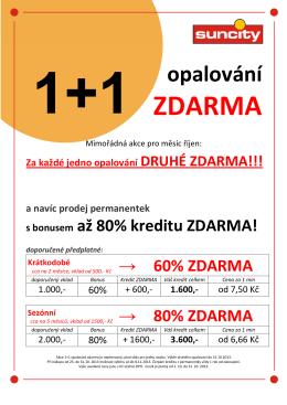 1+1 ceníky do studia Brno