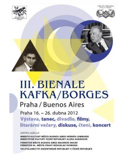 Third Biennale 2012 Kafka/Borges – Prague/Buenos Aires