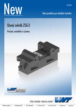 WNT NEW Osový svěrák ZSG-3