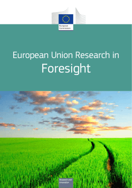 European Union Research in Foresight (2014)