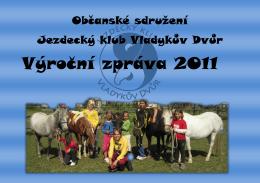 Výrocní zpráva 2011