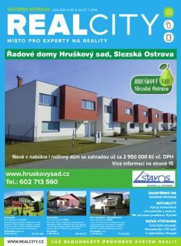 đadové domy Hruškový sad, Slezská Ostrava
