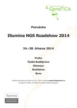 Illumina NGS Roadshow 2014
