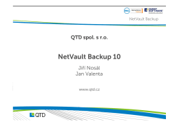 NetVault Backup 10