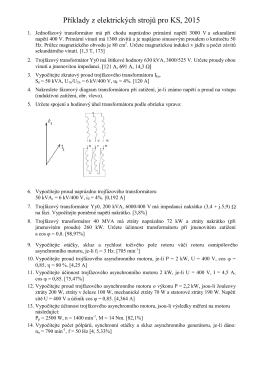 Příklady z elektrotechniky a elektroniky – 1