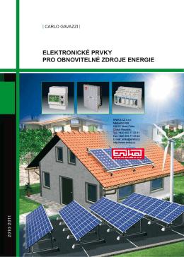 elektronické prvky pro obnovitelné zdroje energie