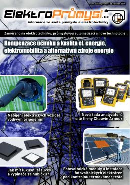 Kompenzace účiníku a kvalita el. energie