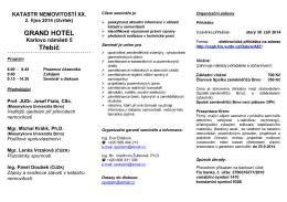 Seminář KN 2005 - Spolek zeměměřičů Brno