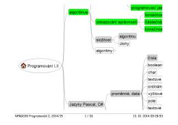 NPRG030 Programování I, 2014/15 1 / 26 13. 10. 2014 09:28:53