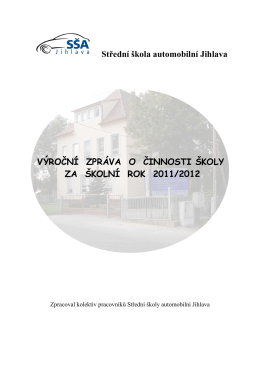 za školní rok 2011/2012