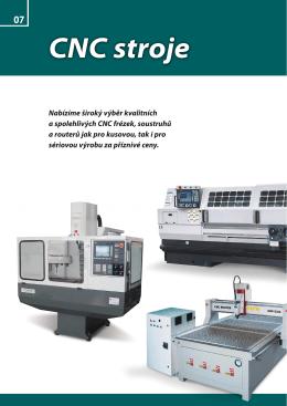 CNC stroje - LPS nářadí, nástroje