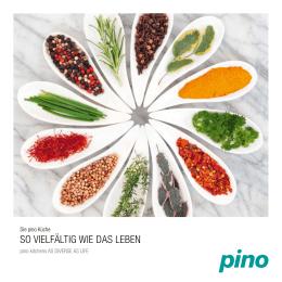 Die pino Küche - so vielfältig wie das Leben
