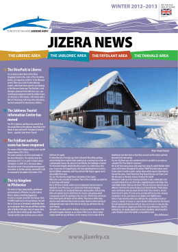 jizera news 2013