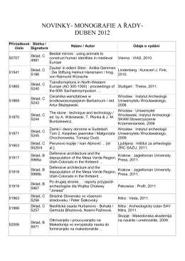 Novinky monografie DUBEN 2012.pdf